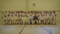 Great Summer Seminar 2017. We trained Tokumine no Kun bo-kata, kumite and different kinds pair-tchniques. We also did 100 times kumite for celebrating Finland's 100 years of independence.