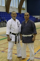 Great Summer Seminar 2017 we also celebrated the 30 years of friendship between Soshi Matsuoi and Kasaba-Sensei.